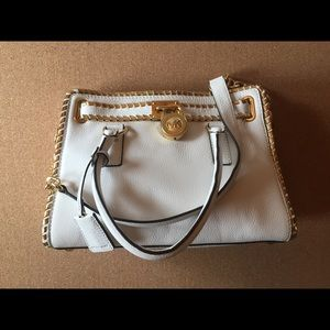 Michael Kors Whipped Hamilton East West Satchel